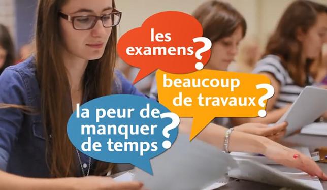 Vidéos : Gérer son stress en contexte universitaire